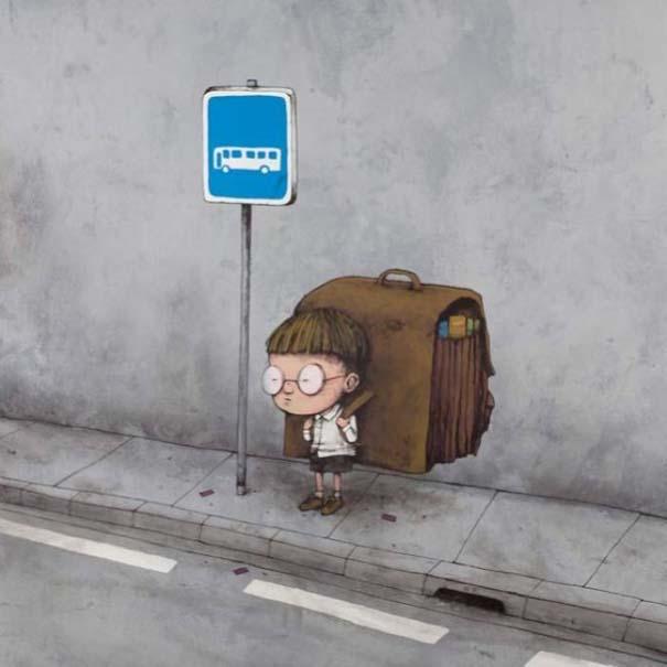 Σατιρικά σκίτσα από τον Γάλλο Banksy που θα σας βάλουν σε σκέψεις (17)