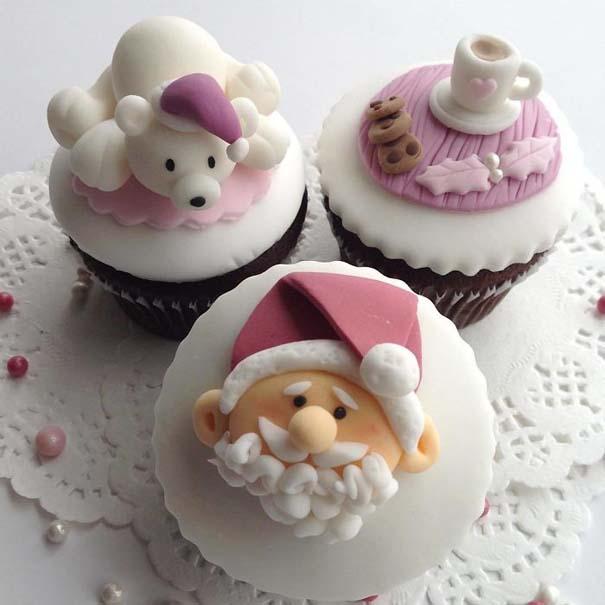 Χριστουγεννιάτικα cupcakes (6)