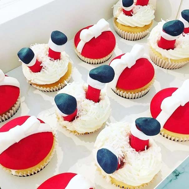 Χριστουγεννιάτικα cupcakes (7)