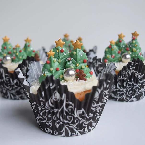 Χριστουγεννιάτικα cupcakes (8)