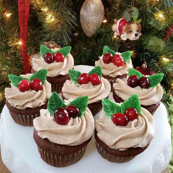 Χριστουγεννιάτικα cupcakes (10)