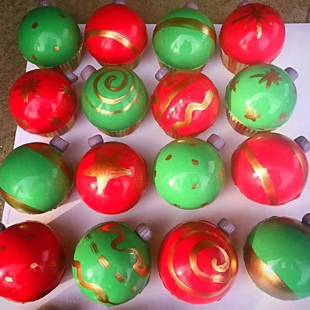 Χριστουγεννιάτικα cupcakes (12)