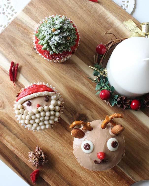 Χριστουγεννιάτικα cupcakes (14)