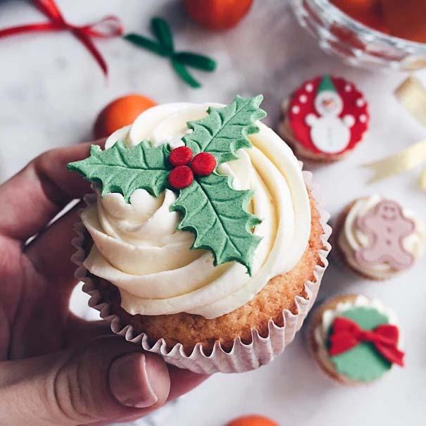 Χριστουγεννιάτικα cupcakes (15)