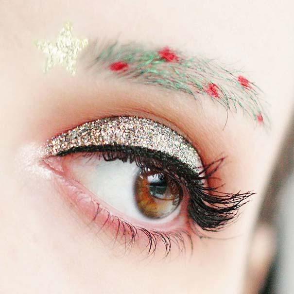 Χριστουγεννιάτικα φρύδια (6)