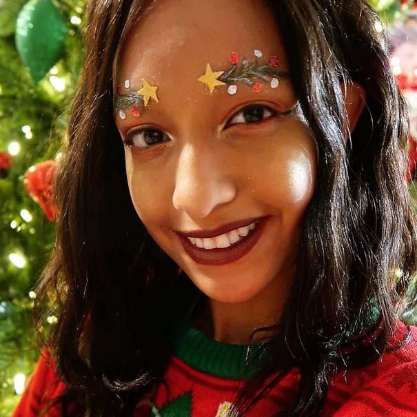 Χριστουγεννιάτικα φρύδια (8)