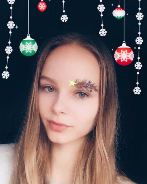Χριστουγεννιάτικα φρύδια (9)