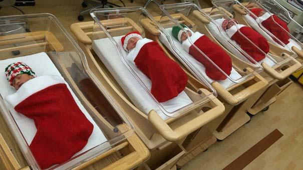 Χριστουγεννιάτικοι στολισμοί σε νοσοκομεία (4)