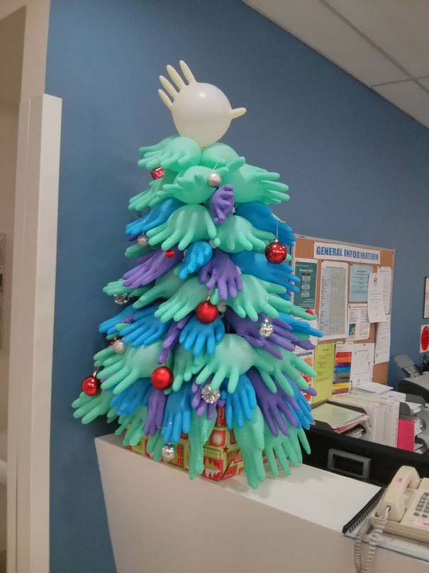 Χριστουγεννιάτικοι στολισμοί σε νοσοκομεία (7)