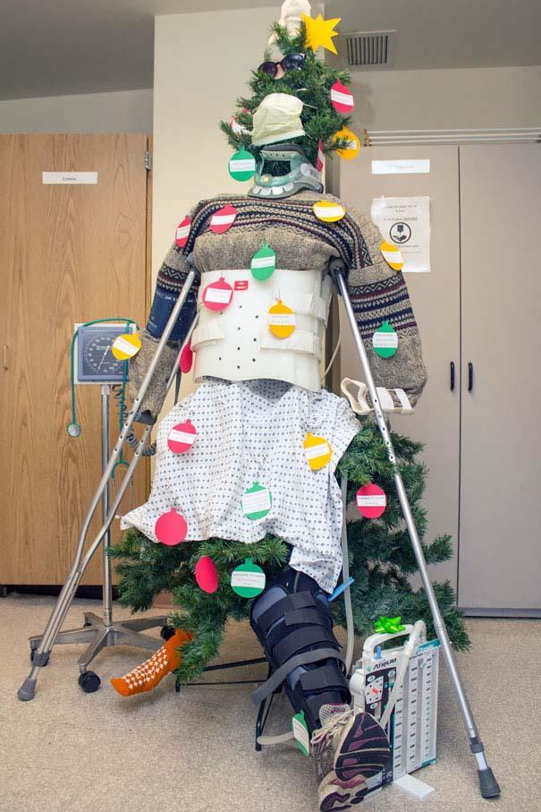 Χριστουγεννιάτικοι στολισμοί σε νοσοκομεία (13)