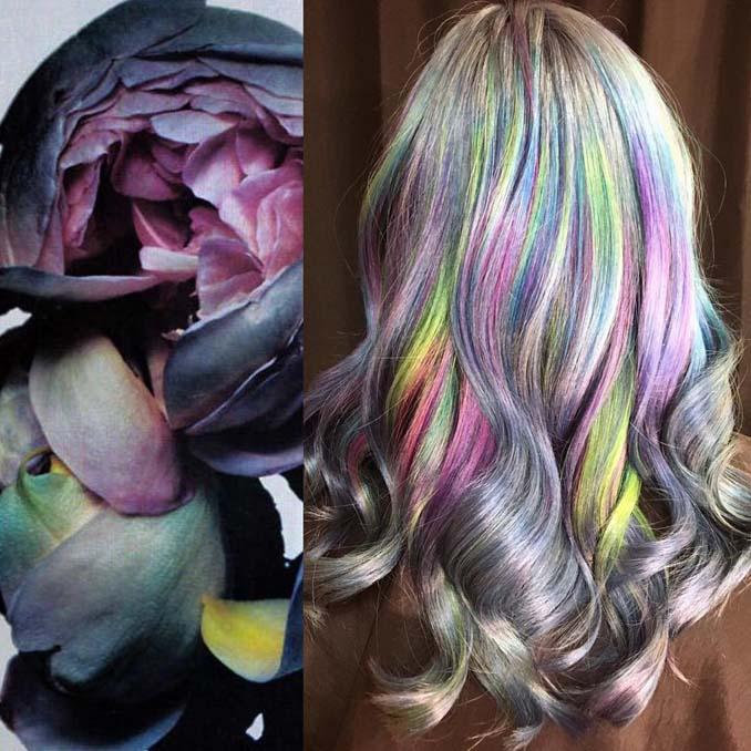 Hair stylist εμπνέεται για το χρώμα μαλλιών από φυσικά τοπία και έργα τέχνης (2)