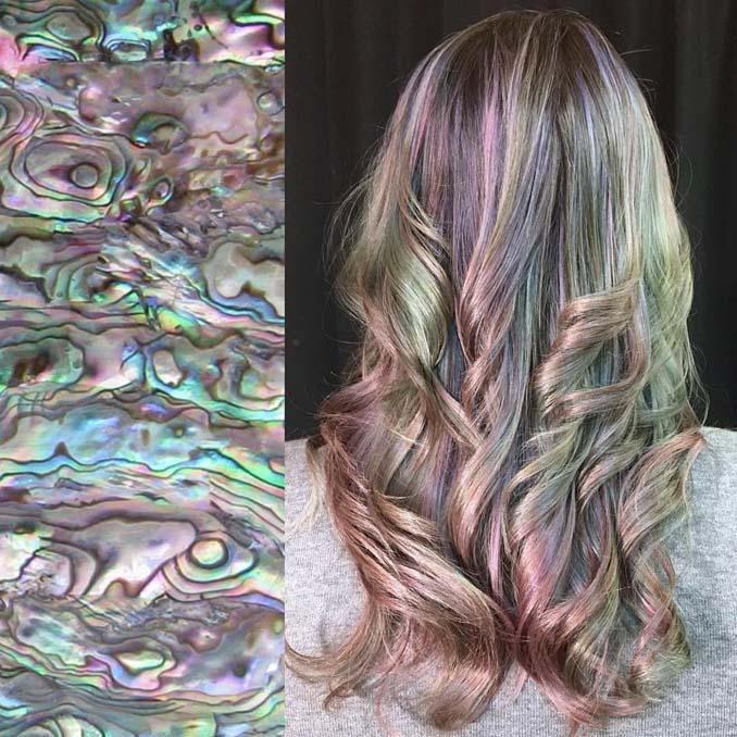 Hair stylist εμπνέεται για το χρώμα μαλλιών από φυσικά τοπία και έργα τέχνης (4)