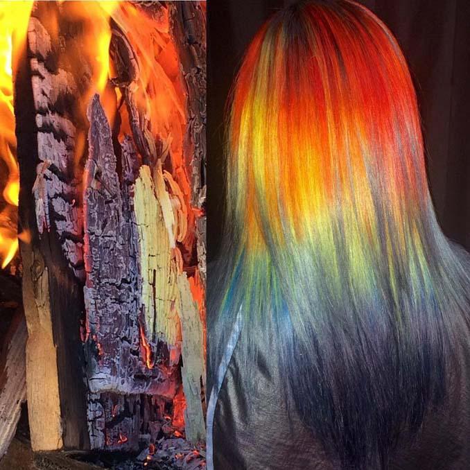 Hair stylist εμπνέεται για το χρώμα μαλλιών από φυσικά τοπία και έργα τέχνης (6)