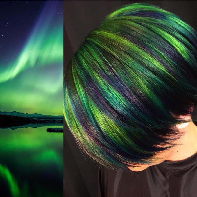 Hair stylist εμπνέεται για το χρώμα μαλλιών από φυσικά τοπία και έργα τέχνης (7)