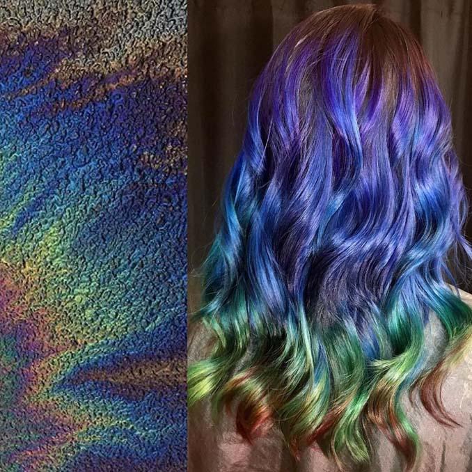 Hair stylist εμπνέεται για το χρώμα μαλλιών από φυσικά τοπία και έργα τέχνης (8)