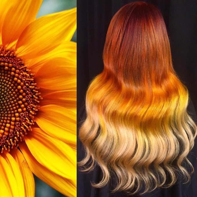 Hair stylist εμπνέεται για το χρώμα μαλλιών από φυσικά τοπία και έργα τέχνης (9)