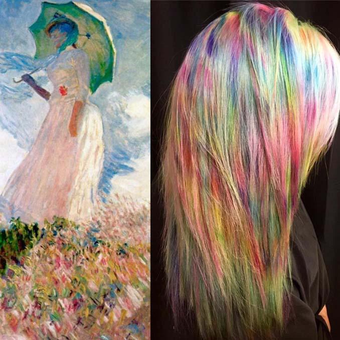 Hair stylist εμπνέεται για το χρώμα μαλλιών από φυσικά τοπία και έργα τέχνης (11)