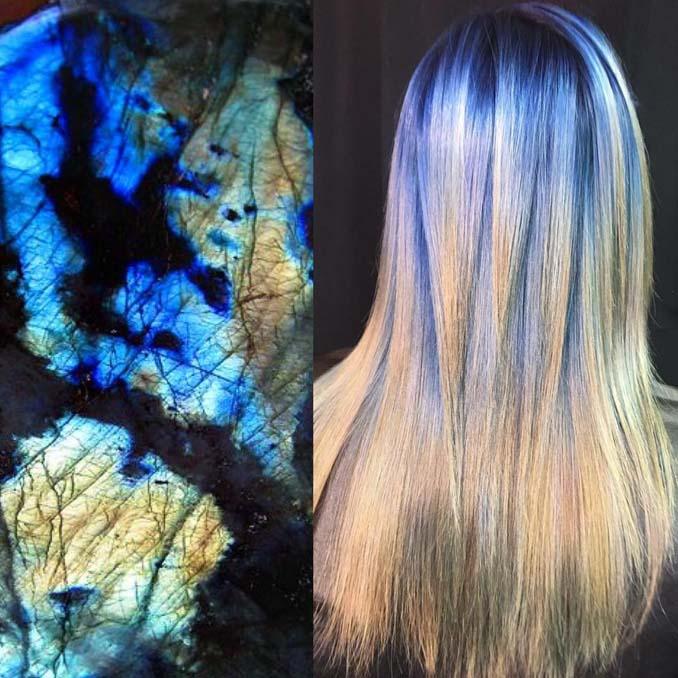 Hair stylist εμπνέεται για το χρώμα μαλλιών από φυσικά τοπία και έργα τέχνης (12)