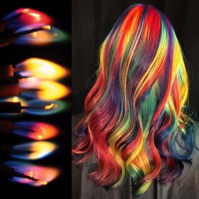 Hair stylist εμπνέεται για το χρώμα μαλλιών από φυσικά τοπία και έργα τέχνης (19)