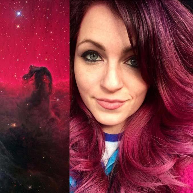 Hair stylist εμπνέεται για το χρώμα μαλλιών από φυσικά τοπία και έργα τέχνης (20)