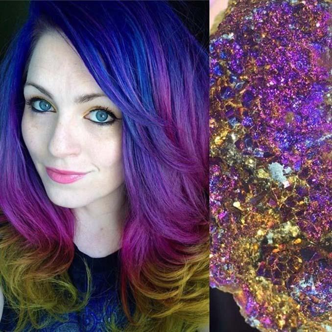 Hair stylist εμπνέεται για το χρώμα μαλλιών από φυσικά τοπία και έργα τέχνης (21)
