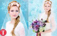 10 απίθανοι γάμοι εμπνευσμένοι από ταινίες της Disney