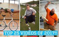 25 από τα κορυφαία βιντεάκια του 2017