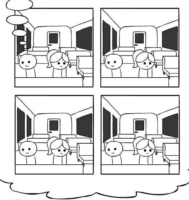 Κόμικ δείχνει με άψογο τρόπο τι συμβαίνει όταν υπεραναλύουμε τη σκέψη μας (4)