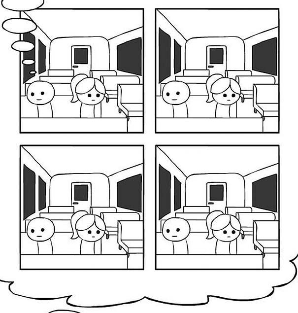 Κόμικ δείχνει με άψογο τρόπο τι συμβαίνει όταν υπεραναλύουμε τη σκέψη μας (8)