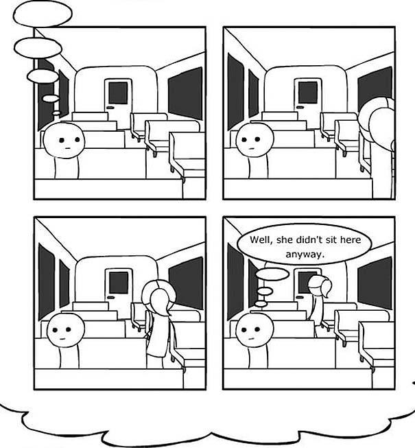 Κόμικ δείχνει με άψογο τρόπο τι συμβαίνει όταν υπεραναλύουμε τη σκέψη μας (9)