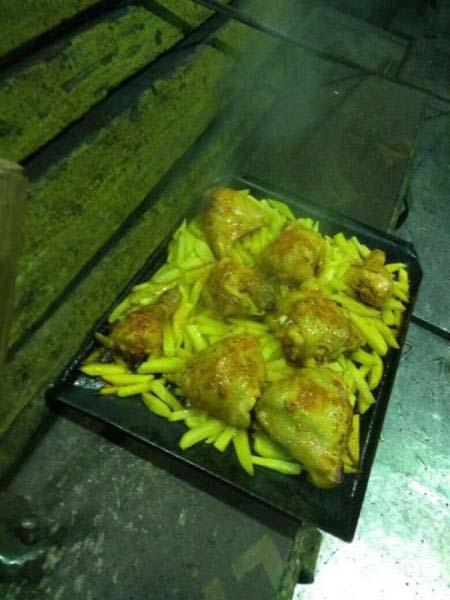 Κάπως έτσι μαγειρεύουν οι εργάτες σε ένα μεταλλουργικό εργοστάσιο (5)