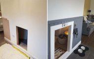 Κατασκευάζοντας ένα υπέροχο δωμάτιο για το σκύλο κάτω από τη σκάλα (1)