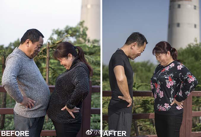 Κινεζική οικογένεια αποφάσισε να αδυνατίσει μαζί και το αποτέλεσμα μετά από 6 μήνες είναι εκπληκτικό (4)