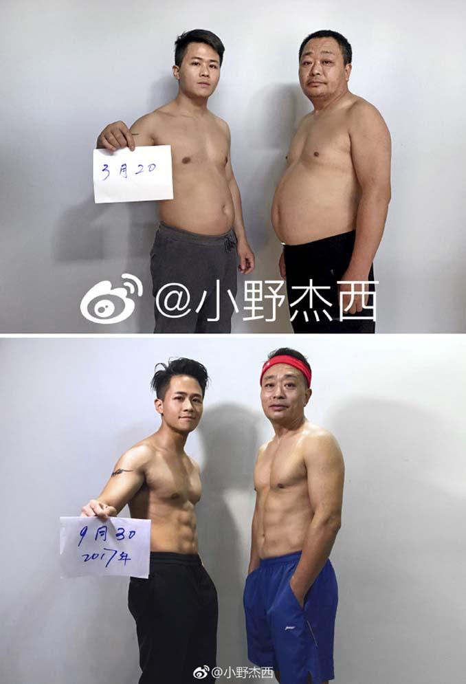 Κινεζική οικογένεια αποφάσισε να αδυνατίσει μαζί και το αποτέλεσμα μετά από 6 μήνες είναι εκπληκτικό (13)