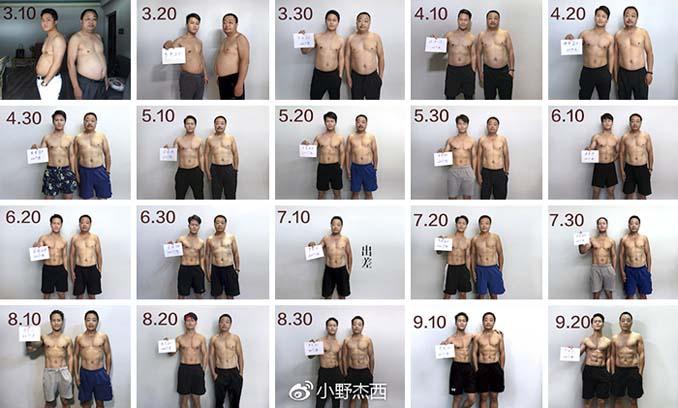 Κινεζική οικογένεια αποφάσισε να αδυνατίσει μαζί και το αποτέλεσμα μετά από 6 μήνες είναι εκπληκτικό (14)