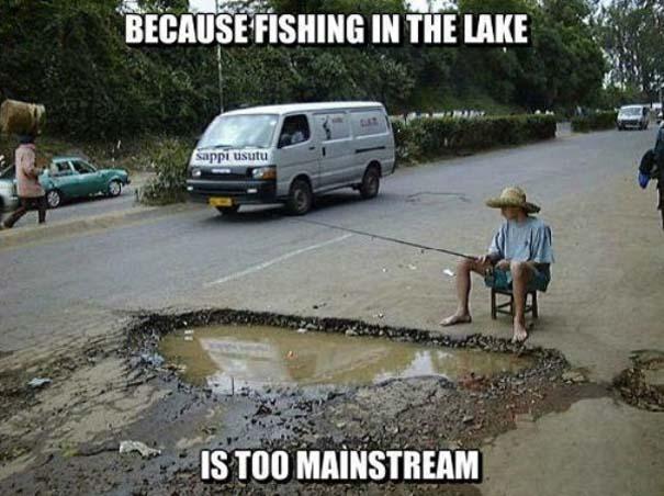 Κωμικοτραγικές καταστάσεις στο ψάρεμα (3)