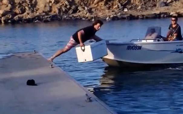 Κωμικοτραγικές καταστάσεις στο ψάρεμα (5)