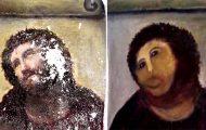 Οι πιο αποτυχημένες περιπτώσεις αποκατάστασης έργων τέχνης