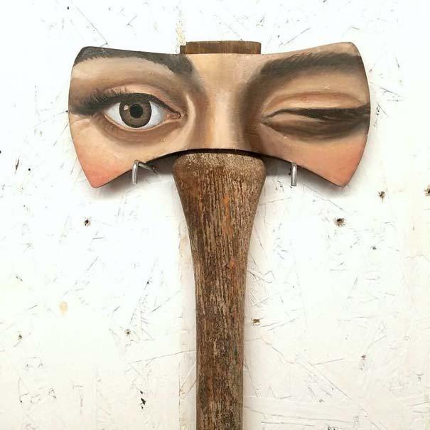 Καλλιτέχνιδα βρίσκει παλιά αντικείμενα και τα μετατρέπει σε εκπληκτικά έργα τέχνης (2)