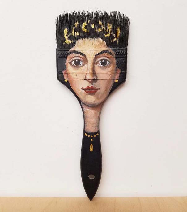Καλλιτέχνιδα βρίσκει παλιά αντικείμενα και τα μετατρέπει σε εκπληκτικά έργα τέχνης (6)