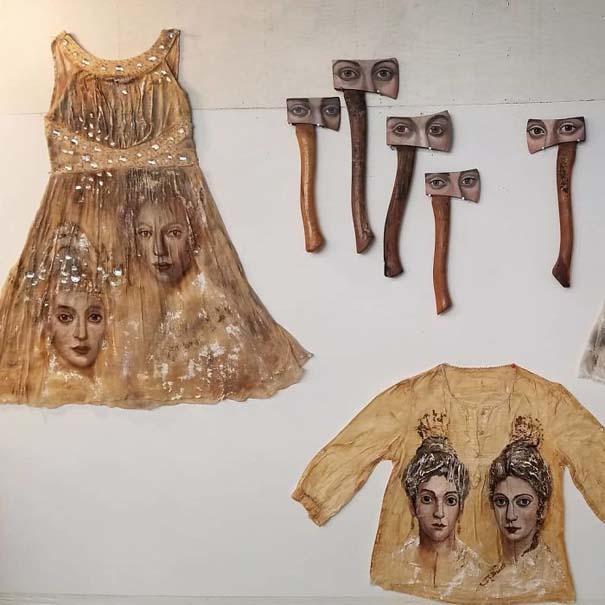 Καλλιτέχνιδα βρίσκει παλιά αντικείμενα και τα μετατρέπει σε εκπληκτικά έργα τέχνης (16)