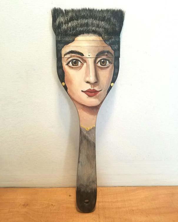 Καλλιτέχνιδα βρίσκει παλιά αντικείμενα και τα μετατρέπει σε εκπληκτικά έργα τέχνης (18)