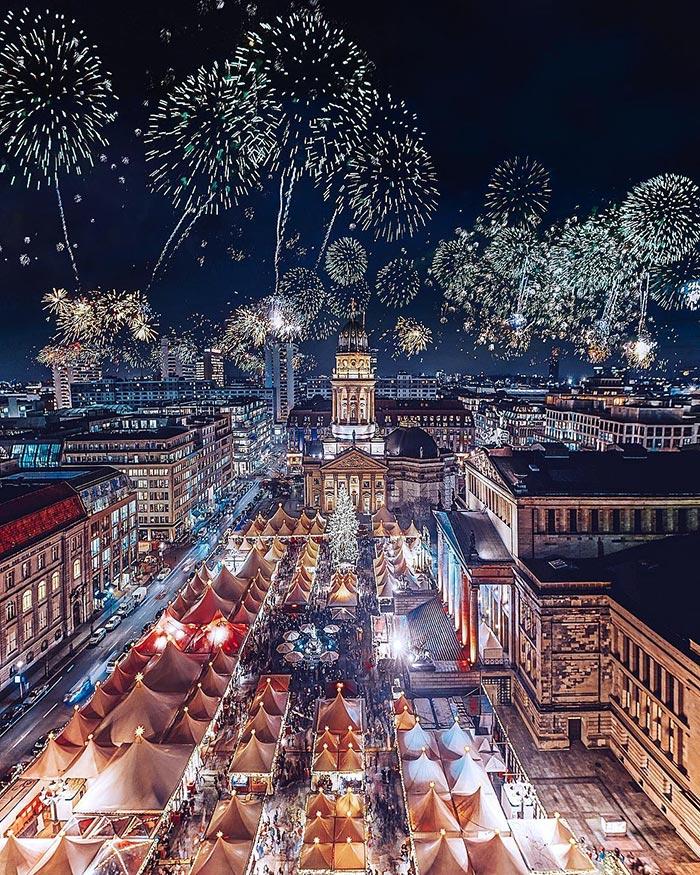 Πρωτοχρονιά στο Βερολίνο | Φωτογραφία της ημέρας