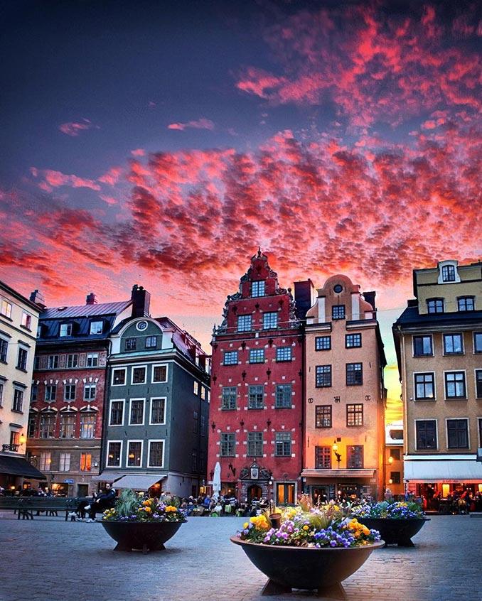 Ηλιοβασίλεμα στη Στοκχόλμη   Φωτογραφία της ημέρας