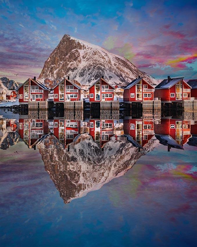 Η αρχιτεκτονική των νησιών Λοφότεν της Νορβηγίας | Φωτογραφία της ημέρας