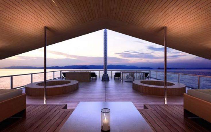 Πολυτελές πλωτό ξενοδοχείο στην Ιαπωνία (1)