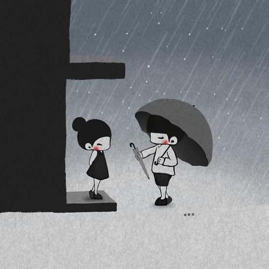 Σκιτσογραφώντας την αγάπη μέσα από μικρές στιγμές της καθημερινότητας (3)