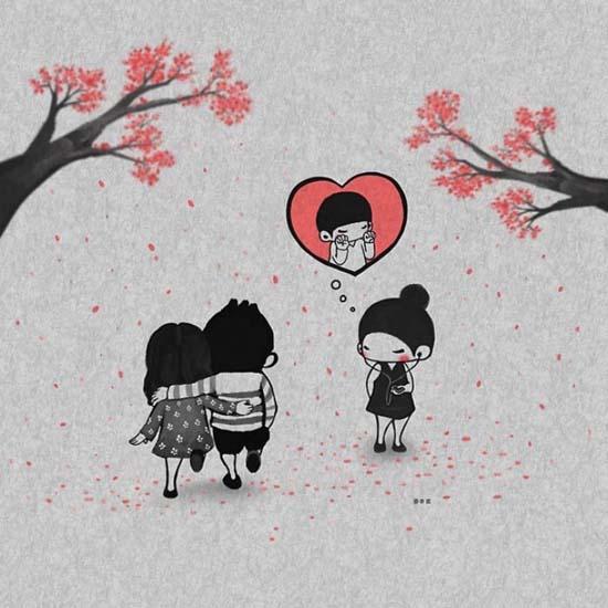Σκιτσογραφώντας την αγάπη μέσα από μικρές στιγμές της καθημερινότητας (4)