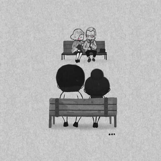 Σκιτσογραφώντας την αγάπη μέσα από μικρές στιγμές της καθημερινότητας (23)