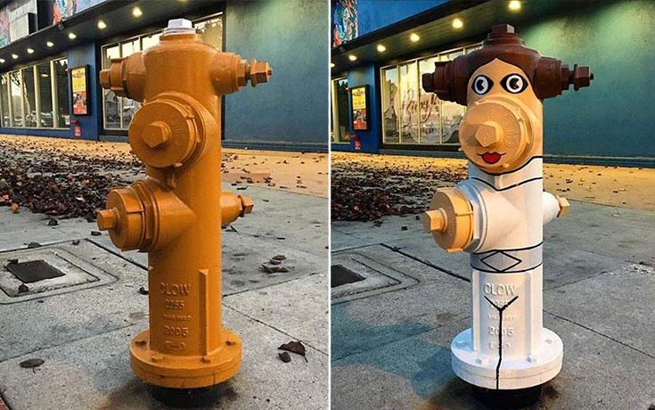 Street artist προσθέτει χρώμα σε μουντά αντικείμενα της πόλης (13)